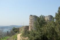 Yoros Castle, Yoros Kalesi, Anadolu kavağı village, Bogaziçi, Bosphorus, istanbul