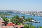 Golden Horn view from Balat, Balat sırtlarından Haliç manzarası