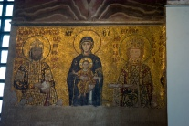 mosaic panel from Hagia Sophia