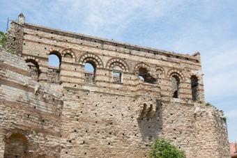 part of Tekfur Palace, Tekfur Sarayı 'nın bir bölümü