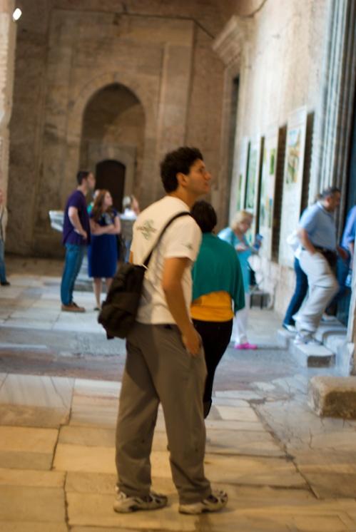 Hagia Sophia museum and visitors, İstanbul, Turkey, Ayasofya müzesinde ziyaretciler,  Pentax K10d
