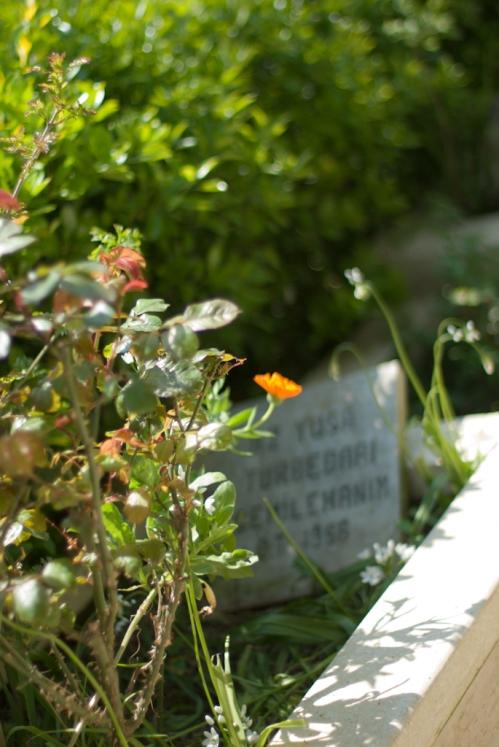 a grave from Hz. Yuşa's Thomb, Anadolu Kavağı, İstanbul, Hazreti Yuşa Türbesinden, eski türbedarlardan birisinin mezarı,  Pentax K10d