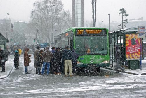 Beşiktaş bus stop