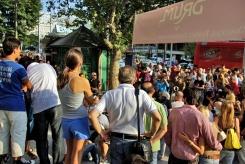 street concert in Bagdat Avenue, Bağdat Caddesi'nde sokak konseri, İstanbul, pentax k10d