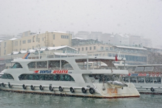 Beşiktaş-Üsküdar boats, Beşiktaş