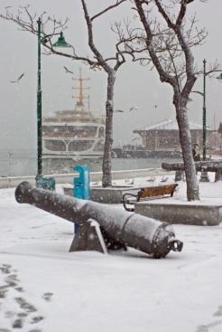 Beşiktaş open air naval museum and park