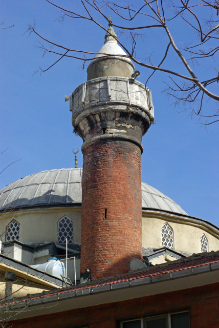 Kızıl Minareli Camii, Aksaray, İstanbul, Red Minaret Mosque, Pentax K10d