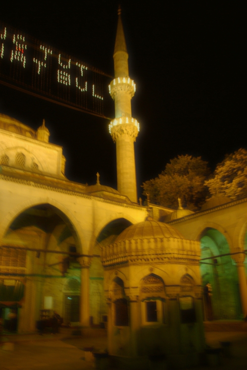 ramadan and New mosque at üsküdar, Üsküdar Yeni camii ve ramazan, 2007
