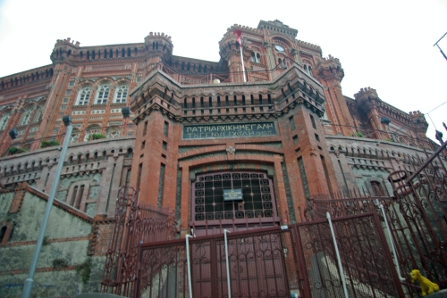 Private Greek College, Özel Fener Rum Lisesi, İstanbul, pentax k10d