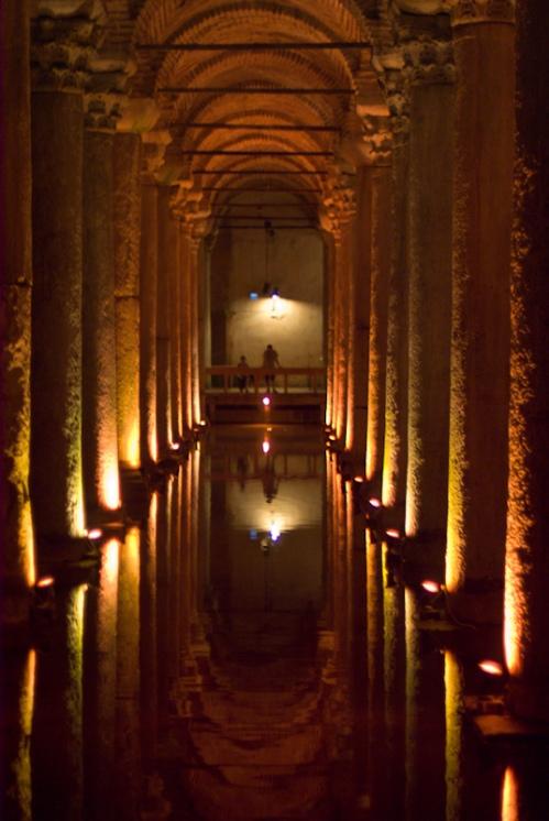 Basilica cistern, Yerebatan sarayı, Sultanahmet, İstanbul, pentax k10d