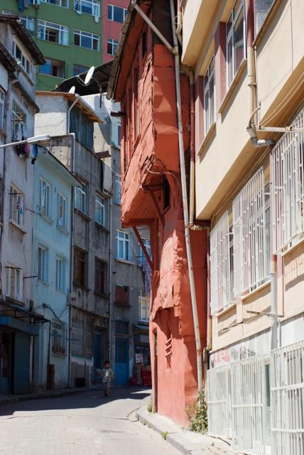 houses from Balat, Balat evleri, İstanbul, pentax k10d