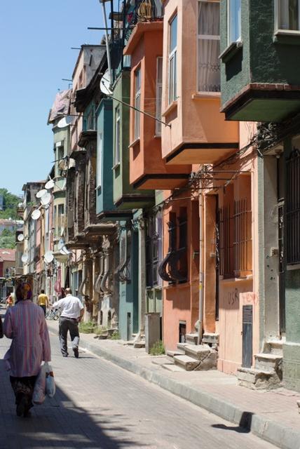 streets of Balat, Balat sokakları, İstanbul, pentax k10d