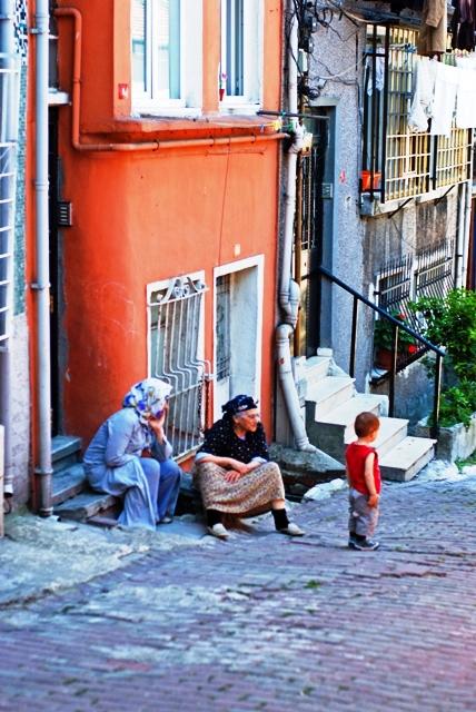 streets of Balat, İstanbul
