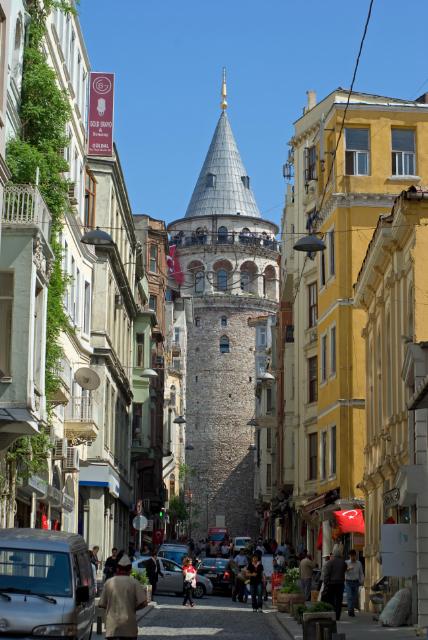 Galata Tower, Galata kulesi, Galata region, İstanbul, pentax k10d