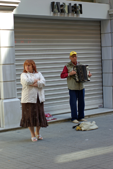 Street musicians, Sokak müzisyenleri,  Beyoğlu-İstanbul, pentax k10d