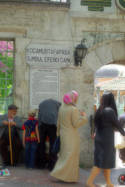 Sümbül Efendi Camii, Sumbul Efendi Mosque, Kocamustafapaşa, İstanbul, pentax k10d