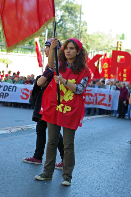 Labour and Solidarity Day celebration in Taksim Square, İstanbul
