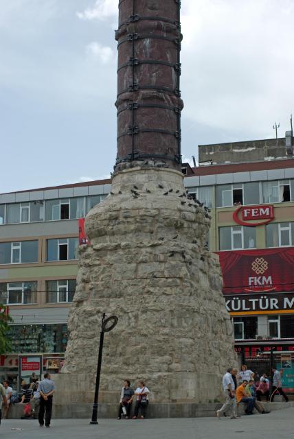 Çemberlitaş sütunu, Constantine Column, Burnt Column, İstanbul