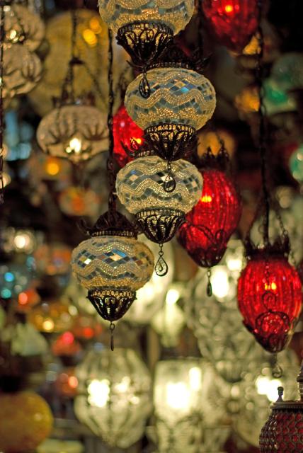 Lanterns, grand bazaar, istanbul, kapalı çarşı