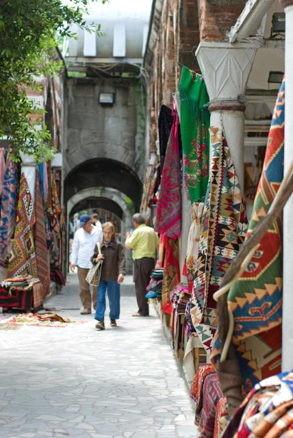 Rug store, kilim satıcıları, Çemberlitaş, İstanbul, pentax k10d