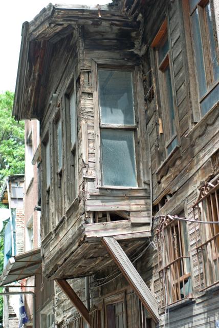 wooden house, Süleymaniye, İstanbul, pentax k10d