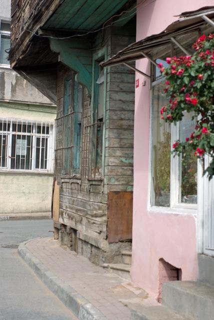 old style houses of Yedikule, İstanbul, pentax k10d
