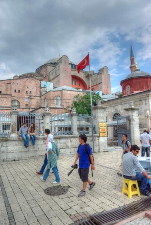 Hagia Sophia Museum, Ayasofya müzesi, Sultanahmet square, İstanbul, pentax k10d