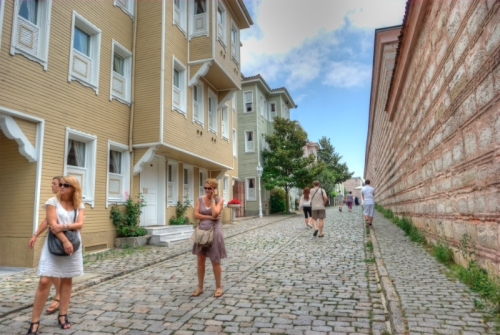 Soğukçeşme sokağı, Sogukcesme street, Sultanahmet, İstanbul, pentax k10d