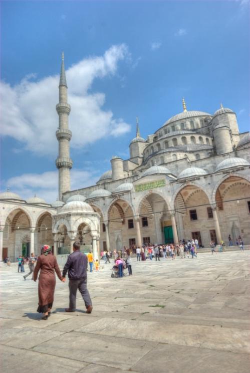 Sultanahmet camii, Blue mosque, İstanbul, pentax k10d, Sultanahmet meydanı, Sultanahmet square