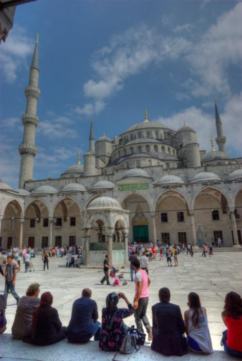 Sultanahmet camii, Blue mosque, İstanbul, pentax k10d