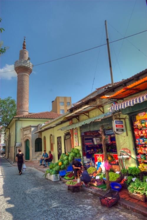 Tahta Minareli Camii, Balat, İstanbul , pentax k10d