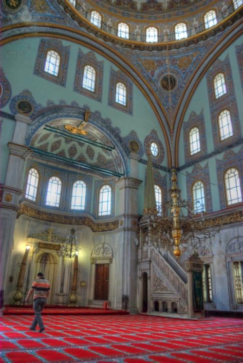 Nusretiye Camii, Nusretiye Mosque, Istanbul, Kabataş, pentax k10d