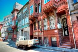old houses, Balat-İstanbul, pentax k10d, Balat'da eski sokakların eski evleri