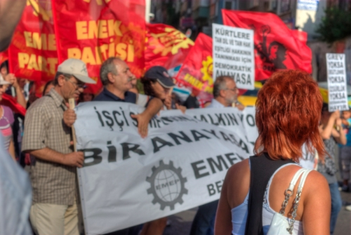 Kadikoy 29.august demonstration,  29.ağustos mitingi Kadıköy, İstanbul, pentax k10d