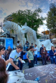 Ortakoy square, Ortaköy meydanı, İstanbul, pentax k10d