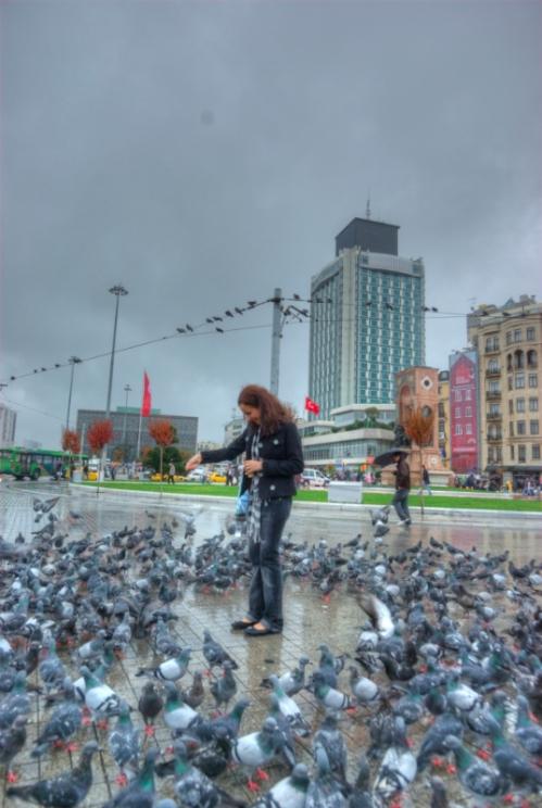 Taksim meydanı, Taksim square, Istanbul, pentax k10d