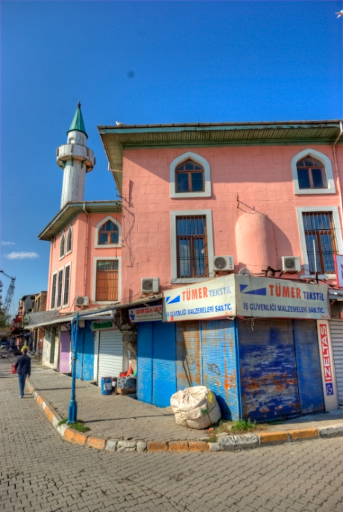 Makbul İbrahim Paşa Camii,  Karaköy, İstanbul, pentax k10d