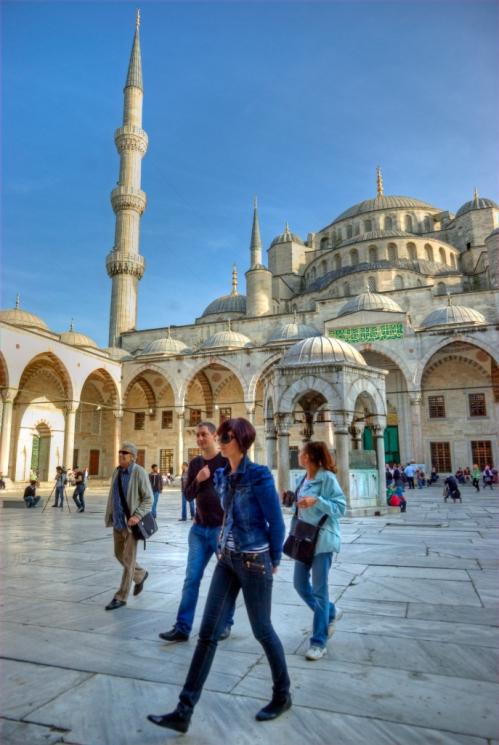 Sultanahmet Mosque (Blue Mosque), Sultanahmet Camii, Sultanahmet-Istanbul, pentax k10d