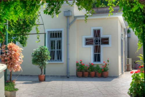 Panagia of Vlahernon Church, Panayia Vlaherna Meryem Ana Ayazması,  Balat, Istanbul, pentax k10d