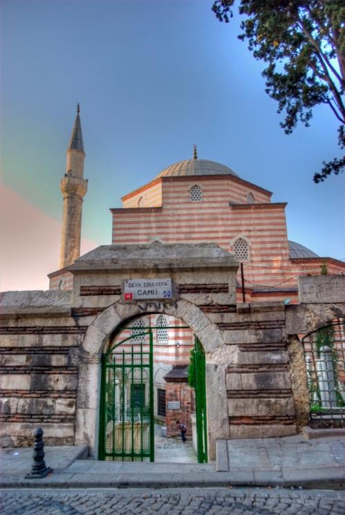 Şeyh Ebulvefa Camii, İstanbul, pentax k10d
