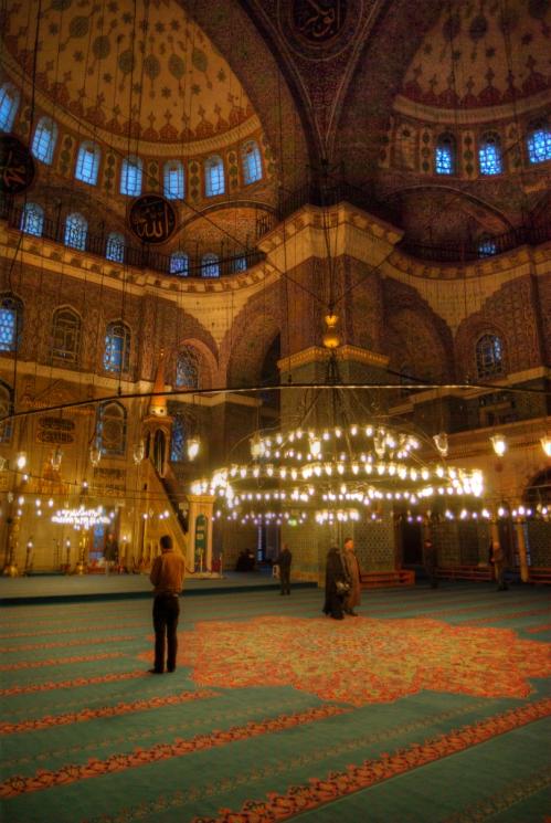 Yeni Camii, Eminonu, Istanbul, pentax k10d