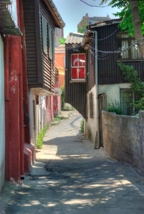 old streets, pentax k10d