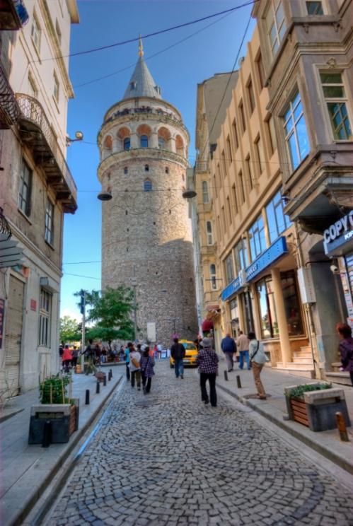 Galata kulesi, Galata tower, Istanbul, pentax k10d