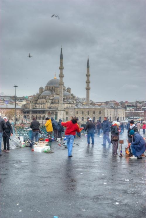 Galata köprüsü, Galata bridge, Eminönü, Istanbul, pentax k10d