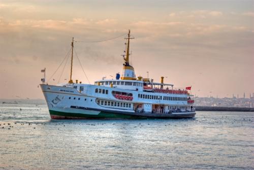 boat on Kadikoy,  Istanbul, pentax k10d