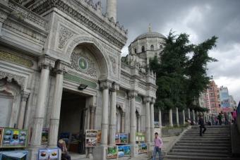 Aksaray Pertevniyal Mosque, Aksaray Pertevniyal Camii, Istanbul , pentax k10d