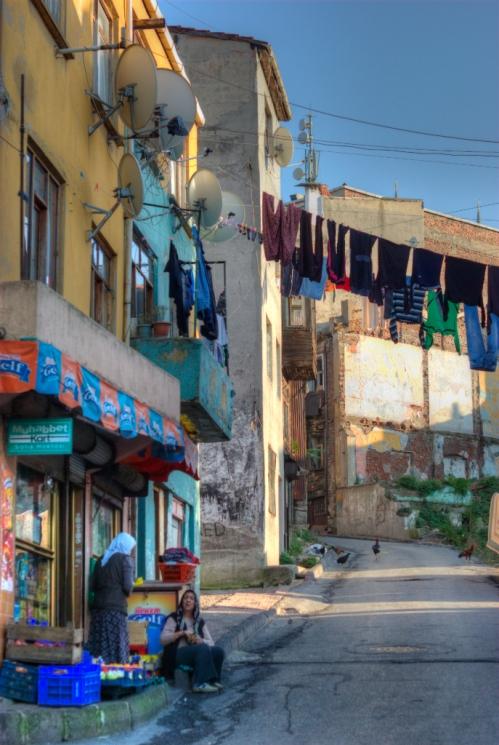 streets of Suleymaniye, Istanbul, pentax k10d