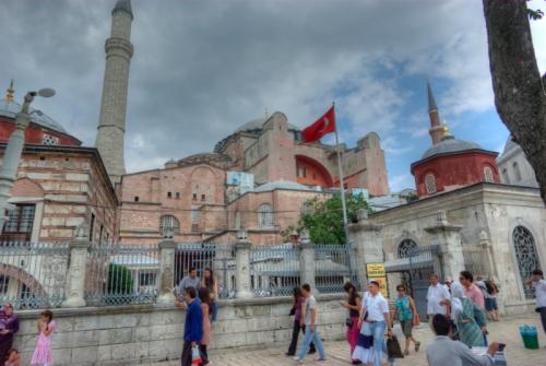 Hagia Sophia and Sultanahmet square, Ayasofya ve Sultanahmet meydanı,  Istanbul, pentax k10d