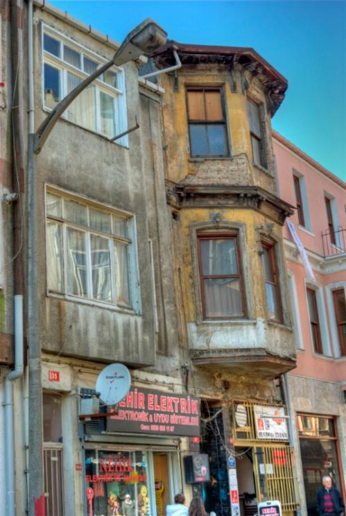 old houses, Yeldegirmeni-Kadikoy, Istanbul, pentax k10d