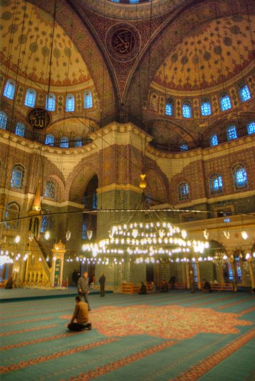 Yeni Camii, New Mosque, Eminönü-Istanbul, pentax k10d